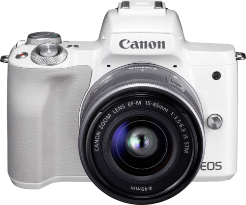 Canon EOS M50 White Kit EF-M 15-45mm IS STM
