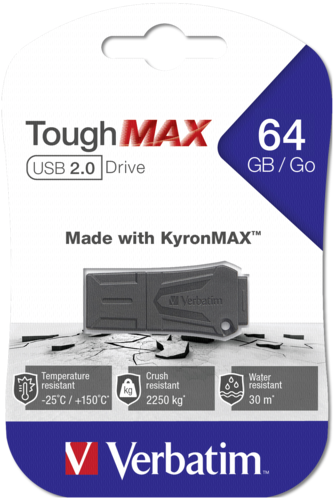 Verbatim ToughMAX 64GB USB 2.0