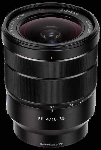 Sony E-Mount 16-35mm f/4 ZA
