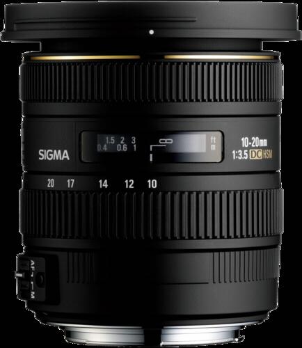Sigma EX 10-20mm f/3.5 DC HSM Canon