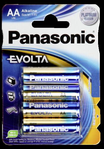 Panasonic Evolta AA LR06 1x4