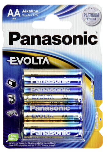 1x4 Panasonic Evolta LR 6 Mignon