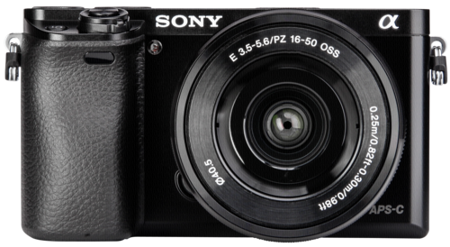 Sony Alpha 6000 Kit SEL-P 16-50mm Black