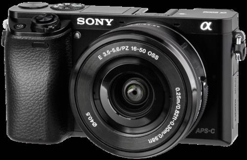 Sony Alpha 6000 Kit schwarz +