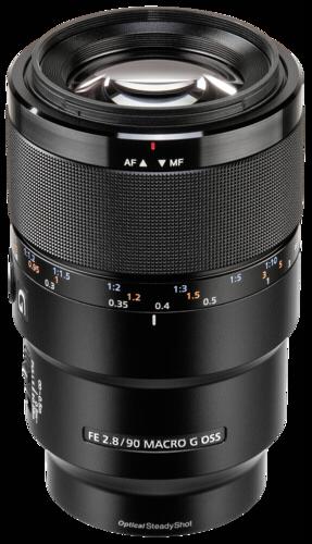 Sony E-Mount 90mm f/2.8 Macro G OSS