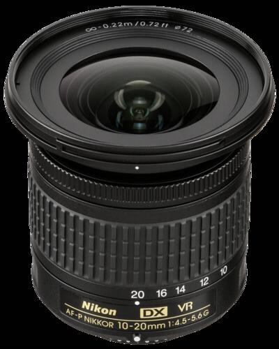 Nikon AF-P 10-20mm f/4.5-5.6 DX G VR