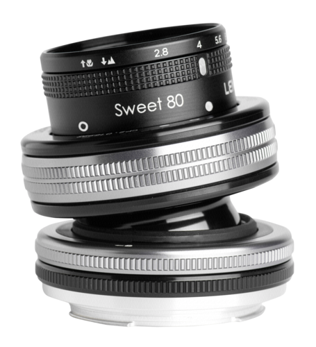 Lensbaby Composer Pro II incl. Sweet 80 Optic Nikon F