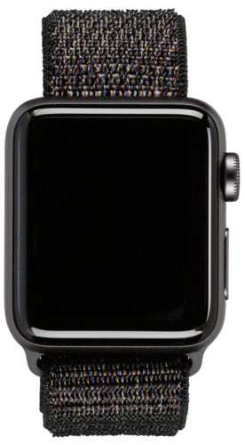 Apple Watch 3 GPS+ Cell 38mm Space Grey Alu Case Black Sport