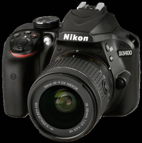 Nikon D3400 Kit schwarz +