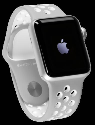 Apple Watch Nike+ 38mm Flat Silver/White Band