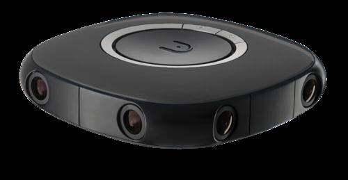 Vuze 3D-360° 4K camera black
