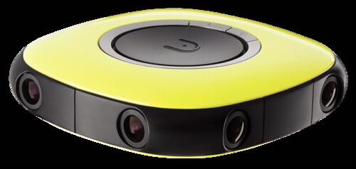 Vuze 3D-360° 4K camera yellow