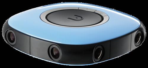 Vuze 3D-360° 4K camera blue