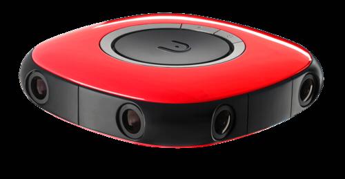 Vuze 3D-360° 4K camera red