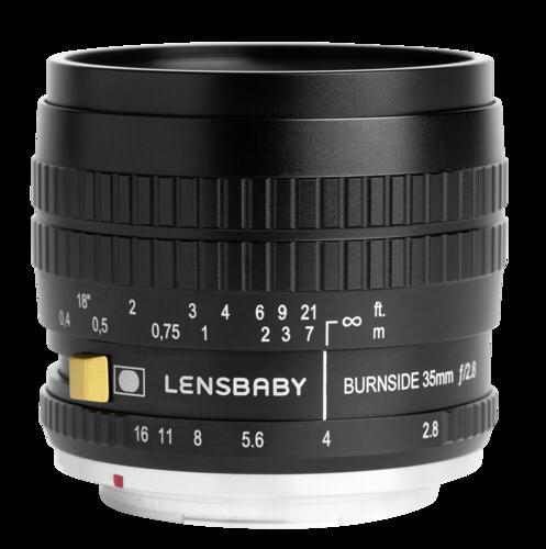 Lensbaby Burnside 35 Nikon F