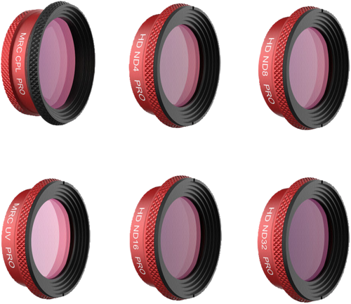 PGYTECH Filter Combo 6-Pack PRO for DJI Mavic Air