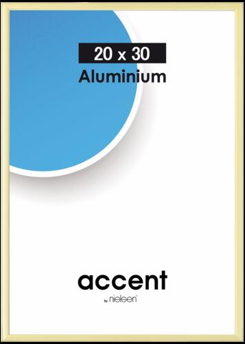 Nielsen Accent Aluminium 20x30 gold