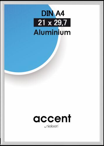 Nielsen Accent Aluminium Matt 21x29.7 silver