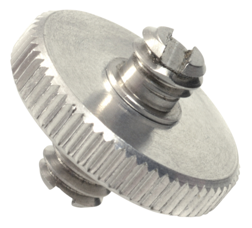 Kaiser Adapter 2x 1/4 threaded pin and lock nut