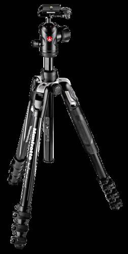 Manfrotto BeFree Advance Aluminium Kit QPL black