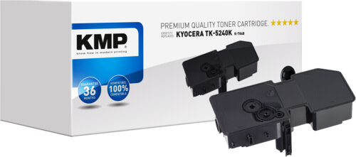 KMP K-T84B toner black compatible with Kyocera TK-5240 K
