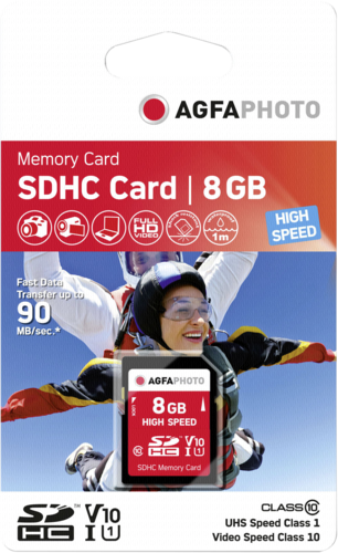 AgfaPhoto SDHC card 8GB