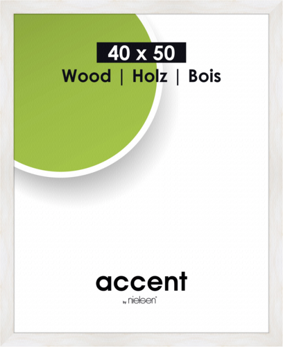Nielsen Accent Magic 40x50 wood white