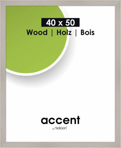 Nielsen Accent Magic 40x50 wood grey