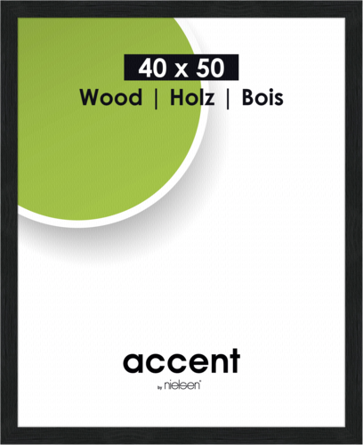 Nielsen Accent Magic 40x50 wood black