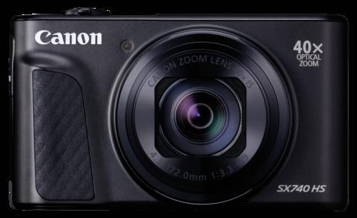 Canon PowerShot SX 740 HS black + Δώρο θήκη και Gorila Tripod