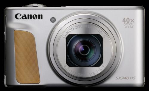 Canon PowerShot SX 740 HS silver + Δώρο θήκη και Gorila Tripod