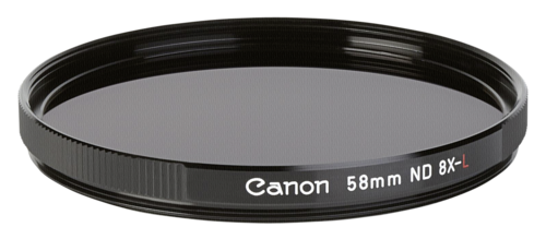 Canon ND 8-L Gray Filter 58