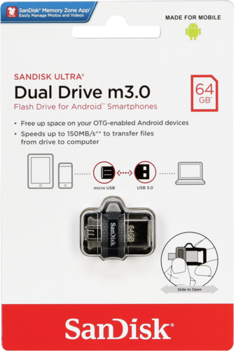 SanDisk Ultra Dual Drive 64GB USB 3.0