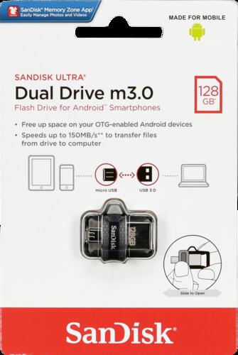 SanDisk Ultra Dual Drive 128GB USB 3.0