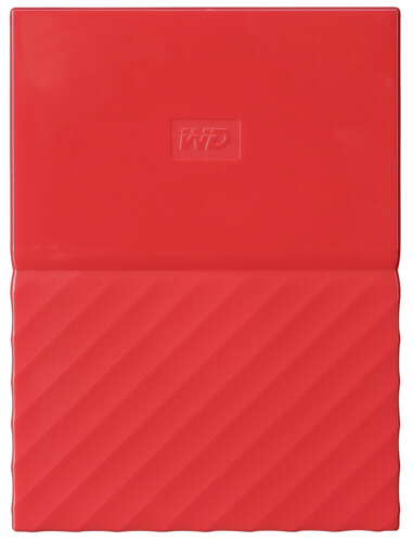 Western Digital My Passport 2TB red HDD USB 3.0