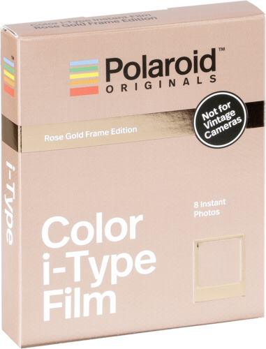 Polaroid I-type Color Rose Gold Film