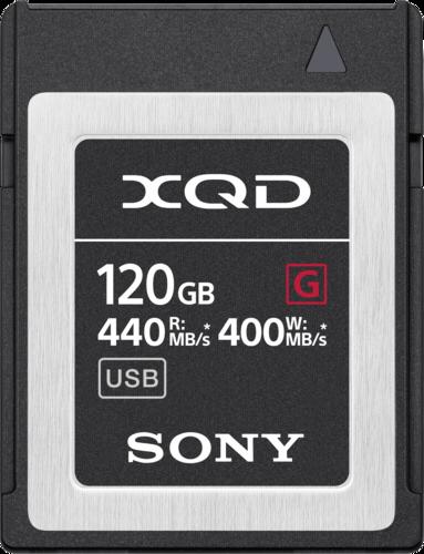 Sony XQD Memory Card G 120GB 400MB/s