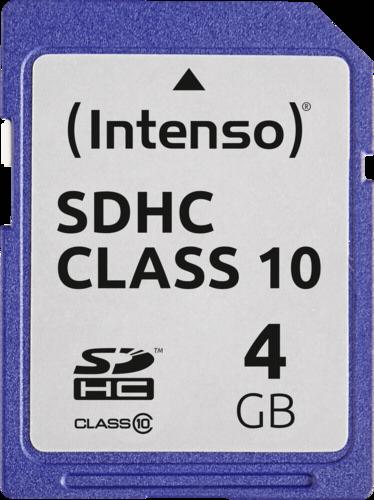 Intenso SDHC Card 4GB Class 10
