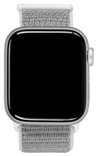 Apple Watch Series 4 GPS Cell 40mm Silver Alu Sport Loop