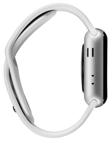 Apple Watch Series 3 GPS 42mm Silver Alu White Sport Band
