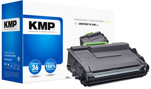 KMP B-T96 Toner black compatible with Brother TN-3480
