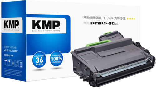 KMP B-T95 Toner black compatible with Brother TN-3512