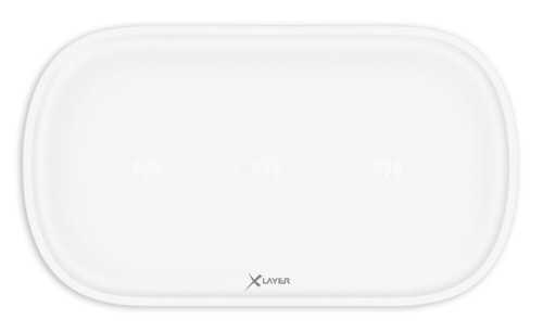 Xlayer Wireless Charging Pad Family Triple white