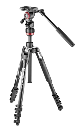 Manfrotto BeFree live Aluminium Kit with Video Head