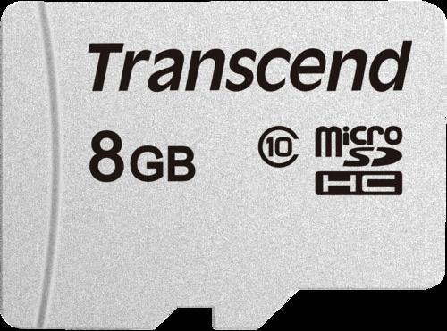 Transcend microSDHC 300S 8GB Class 10