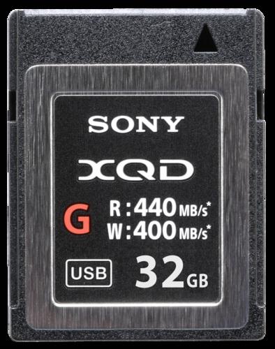 Sony XQD Memory Card G 32GB 400MB/S