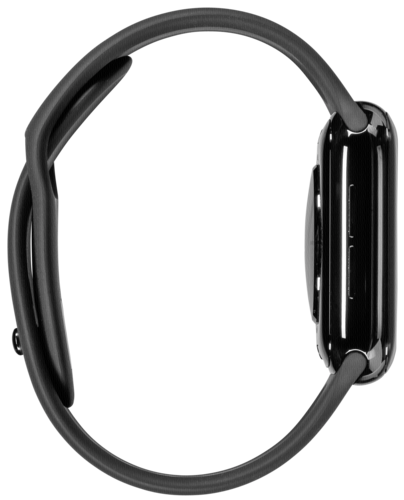 Apple Watch Series 4 GPS Cell 40mm Black Steel Black Band