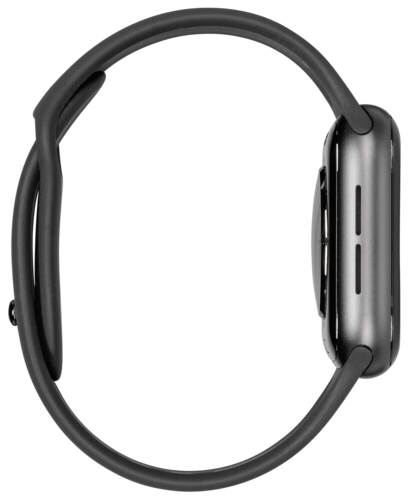 Apple Watch Series 4 GPS Cell 44mm Grey Alu Black Band