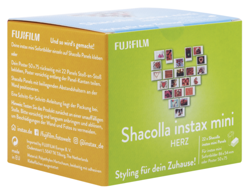 Fujifilm Instax Mini Shacolla Heart 22 pictures