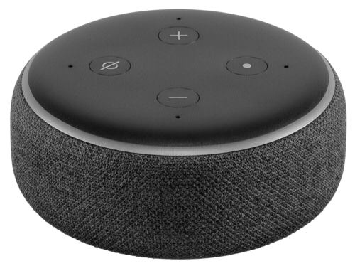 Amazon Echo Dot 3 black Smart Assistant Speaker